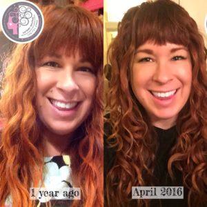 My Curly girl method journey and progress. Carleen Sanchez Reno, NV