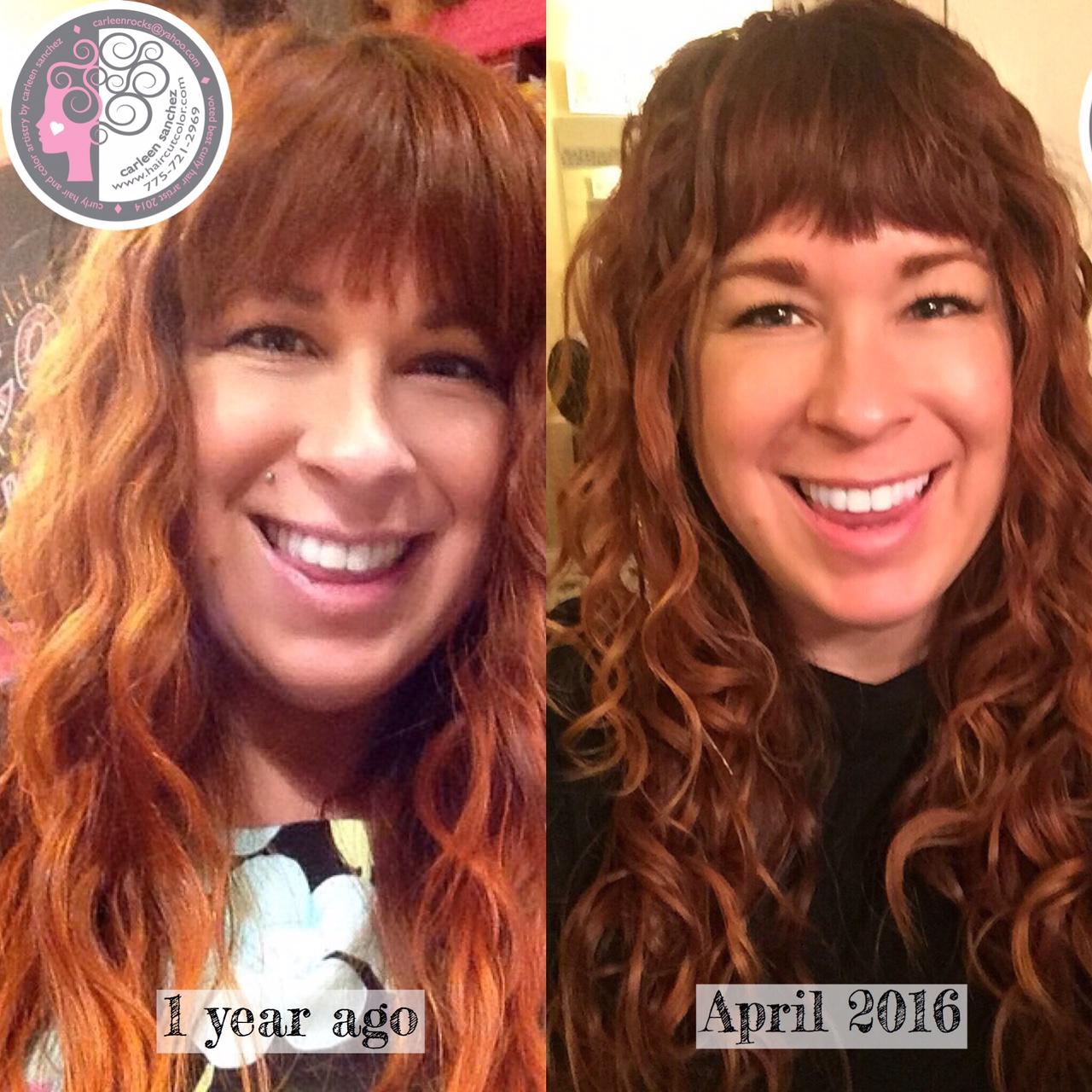 curly hair artist carleen sanchez reno nevada color expert wavy swavy coily salon specialist best