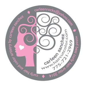 Carleen Sanchez Professional certified hair Colorist in Reno Nevada.